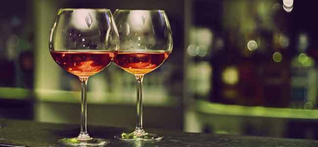 Conduite ivresse - verres de vin