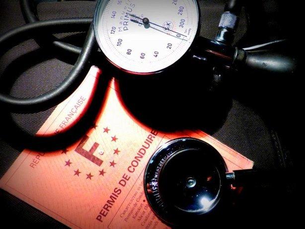 Visite médicale suspension permis de conduire prise de sang