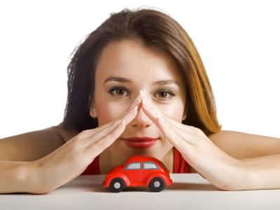 femme jouet voiture