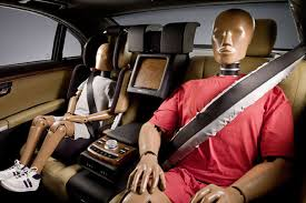 crash test passagers